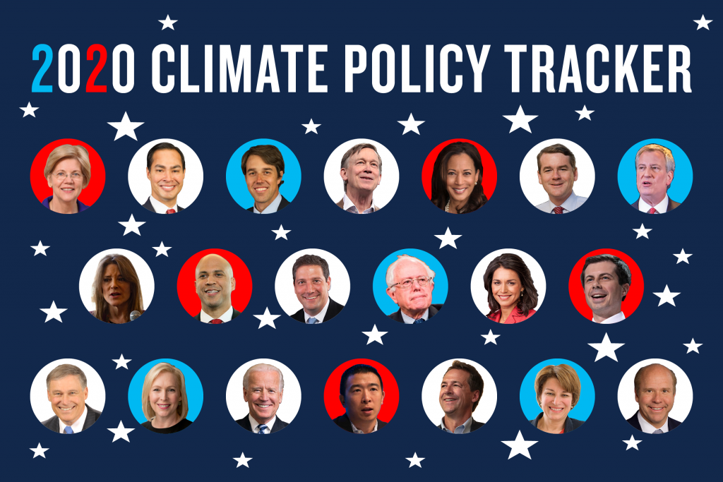 Climate Change And The 2020 Presidential Candidates Where