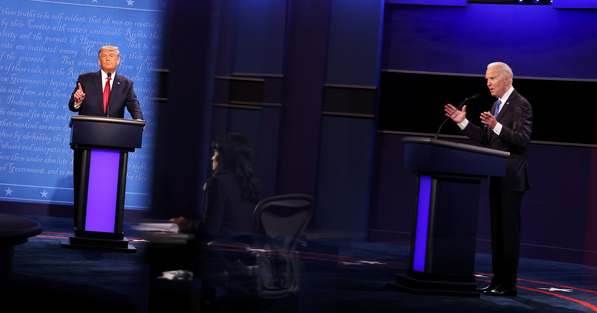 Biden and Trump Clash Over the Environment in Final Presidential Debate